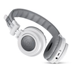 ZB-Bass-X1000-WH Wired/Wireless Headphones Supporting Bluetooth- White