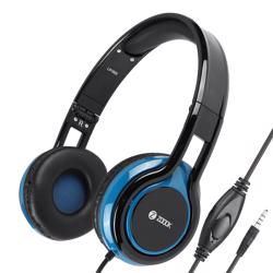 ZM-Sublime Wired Headphone with Mic & extra BASS - Black+Blue