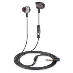 ZM-Gama Zoook Gama Universal HD Earphones with Mic - Black