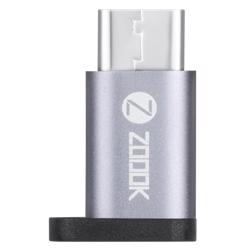ZF-C2MF Zoook ZF-C2MF Type C to Micro USB(F) Adapter - Space Grey