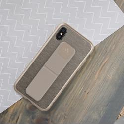 ADIDAS Grip Case for iPhone XS/X Sesame