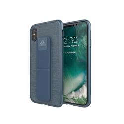 ADIDAS Grip Case for iPhone XS/X Blue