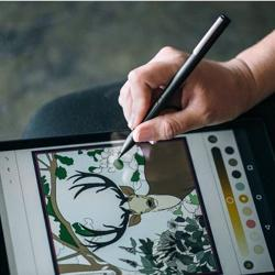 ADONIT Ink Stylus For Windows Powered Tablets And 2 In 1 Devices Black