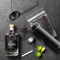 ASOBU Skinny Mini 8oz Fashion Forward Double Walled Stainless Steel Insulated Water Bottle Black