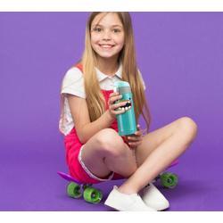 ASOBU Peakaboo Kids Bottle Turquoise