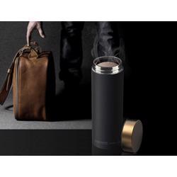ASOBU Le Baton Travel Bottle Black Gold