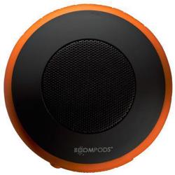 BOOMPODS Aquapod Bluetooth Speaker & Sports Mount Kit Orange