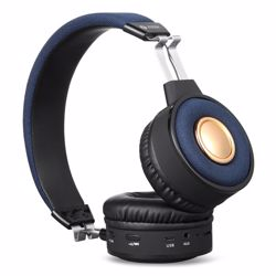 Zoook Soul Premium Bluetooth Headphone with TF/FM Radio/ Aux in and Microphone - Black preview