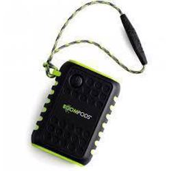 BOOMPODS Powerboom X 7500 mAh Powerbank and Torch Water Resistant Black
