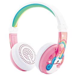 BUDDYPHONES Wave Bluetooth Headphones Waterproof Unicorn - Pink