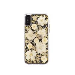 CASE-MATE Karat Petals Case for iPhone XS/X Antique White
