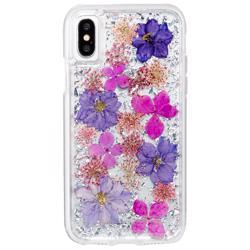 CASE-MATE Karat Petals Case for iPhone XS/X Purple