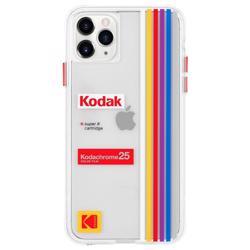 CASE-MATE Kodak Case for iPhone 11 Pro Max - Striped Kodachrome Super 8