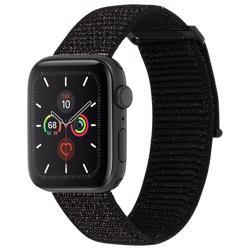 CASE-MATE 38-40mm Apple Watch Nylon Band - Mixed Metallic Black