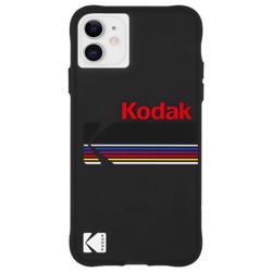 CASE-MATE Kodak Case for iPhone 11- Matte Black