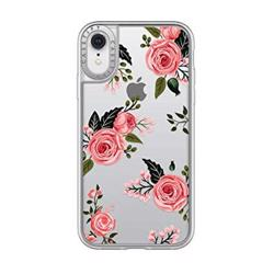 CASETIFY Impact Case Pink Roses For iPhone XR