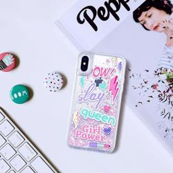 CASETIFY Glitter Case Unicorn Slay Queen for iPhone XS/X