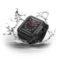 CATALYST 42MM Series 3 Waterproof Case For Apple Watch Stealth Black