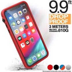 CATALYST Impact Protection Case for iPhone 11 Pro Max - Black / Red