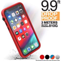 CATALYST Impact Protection Case for iPhone 11 Pro - Black / Red
