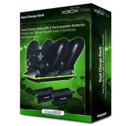 DREAM GEAR Xbox One Dual Power Dock Black