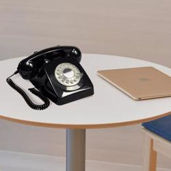 GPO 746 Hotel Phone Push Black
