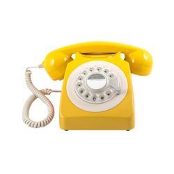 GPO 746 Rotary Hotel Phone Mustard