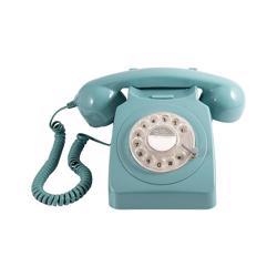 GPO 746 Rotary Hotel Phone Blue