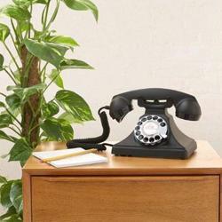 GPO 200 Rotary Hotel Phone Carrington Black