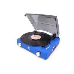 GPO Stylo II Vinyl Record Player Blue