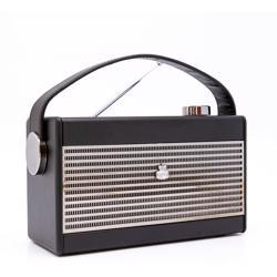 GPO Darcy Portable Analogue Radio Black
