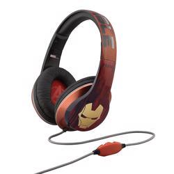iHOME Kiddesigns Over-Ear Headphone With Mic Iron Man