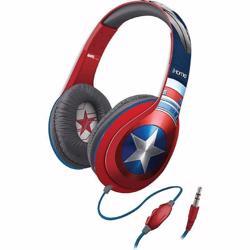 iHOME Kiddesigns Over-Ear Headphone With Mic Captain America