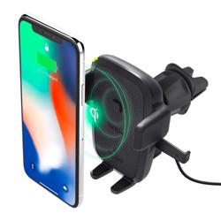 IOTTIE Easy One Touch Qi Wireless Fast Charge Air Vent Car Mount