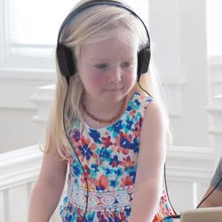 KENU Groovies Kids Stereo Headphones Black
