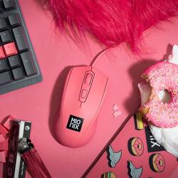 MIONIX Avior Ambidextrous Optical Gaming Mouse Frosting