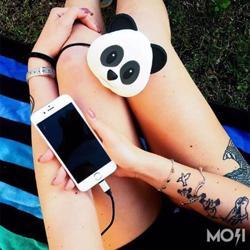 MOJIPOWER External Battery Portable Charger 5200 mAh Power Bank Panda
