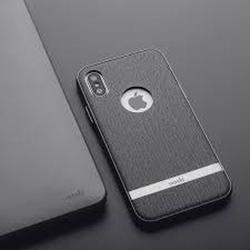 MOSHI Vesta Herringbone Gray for iPhone XS/X