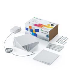 NANOLEAF Canvas Square White Expansion 9 Pack Touch and Rhythm Sensitive LED Light Panels