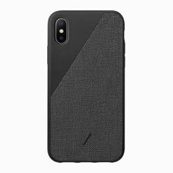 NATIVE UNION Max Clic Canvas Case for iPhone XS