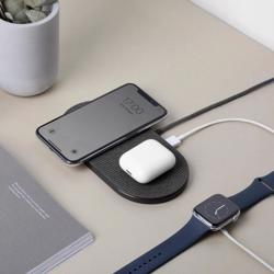 NATIVE UNION Drop XL Wireless Charging Pad Fabric Slate