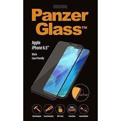 PANZERGLASS Black Frame Case Friendly For iPhone XS/X
