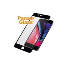 PANZERGLASS Case Friendly - Jet Black / Black for iPhone 8/7/6S/6