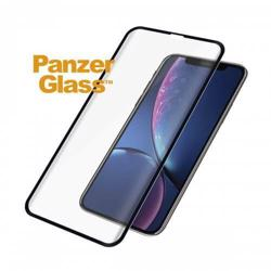 PANZERGLASS - Edge To Edge - Black Frame For iPhone XR