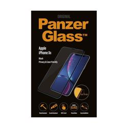 PANZERGLASS - Edge To Edge - Black for iPhone XR Privacy