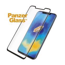 PANZERGLASS Huawei Mate 20 Pro Black Curved Edges Case Friendly