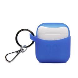 PODPOCKET Silicone Case for Apple AirPods - Scoop Collection - Dark Blue