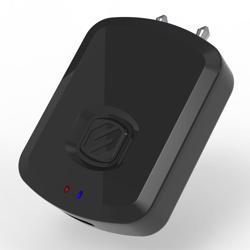 SCOSCHE BlueTooth Transmitter Airline Adapter - Black