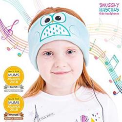 SNUGGLY RASCALS Ultra-Comfortable & Size Adjustable Headphones for Kids OWL