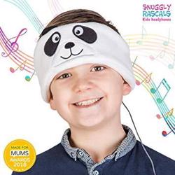 SNUGGLY RASCALS Ultra-Comfortable & Size Adjustable Headphones for Kids PANDA